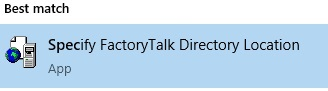 plc programming specify factorytalk directory plc